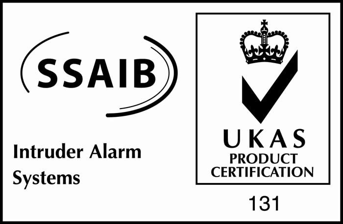 Brimac Security Limited's intruder alarm systems are accredited by the The Security Systems & Alarms Inspection Board (SSAIB), L/Derry, Northern Ireland